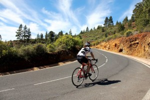 cykla på teneriffa