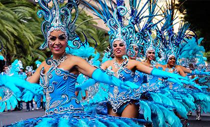 Karneval på Teneriffa