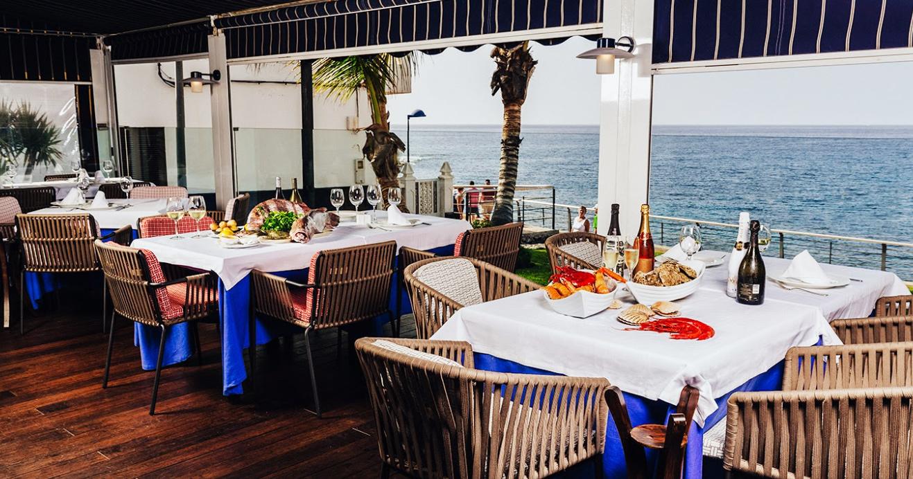 La Vieja fisk och skaldjursrestaurang på Teneriffa