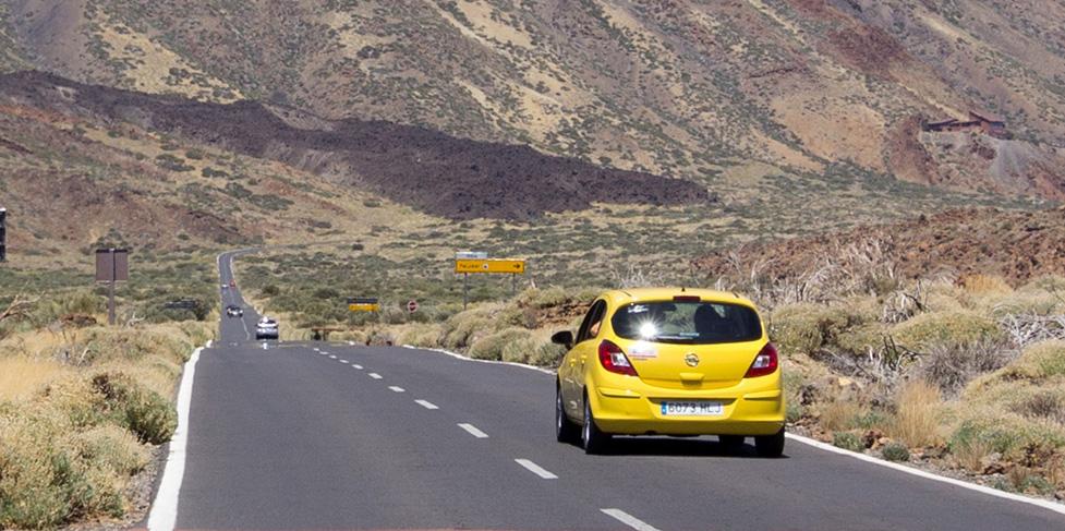 Stor bilguide: hyra köpa bil på Teneriffa